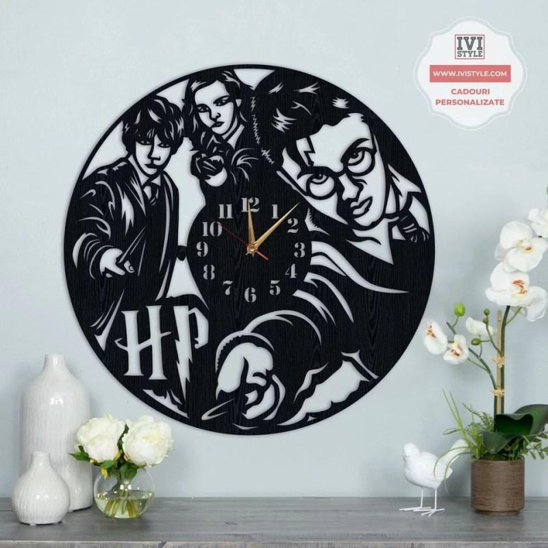 Ceas de perete Harry Potter 01 Personalizat