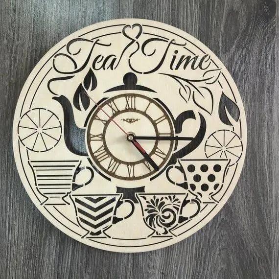 Ceas decorativ Ceai Tea Time