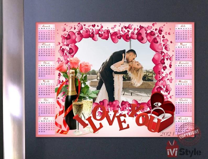 Calendar-Magnetic-Personalizat-I-Love-You-01