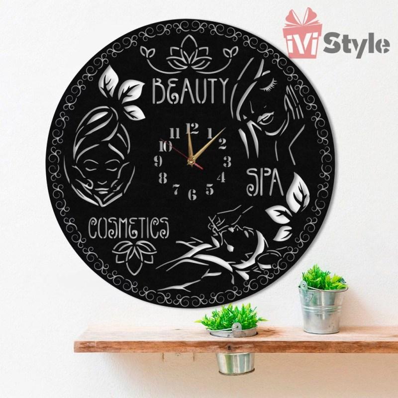 Ceas Personalizat Salon Cosmetica 01