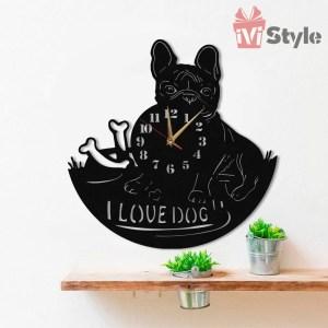 ceas buldog francez personalizat