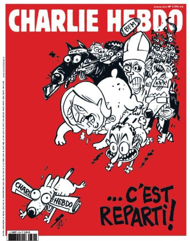 Charlie Hebdo: febrero