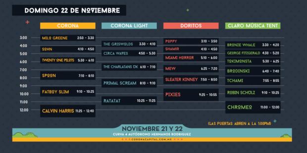 Horario CC2015-2
