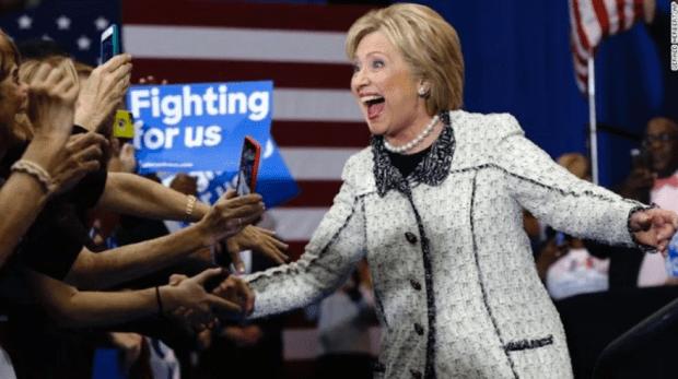 Hillary Gana Carolina del Sur