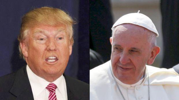 Papa y Trump