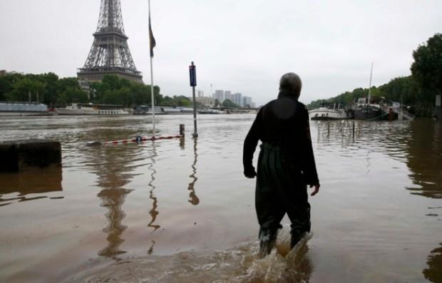 Paris inundaciones