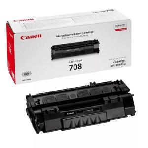 Заправка картриджа Canon 708 в Москве