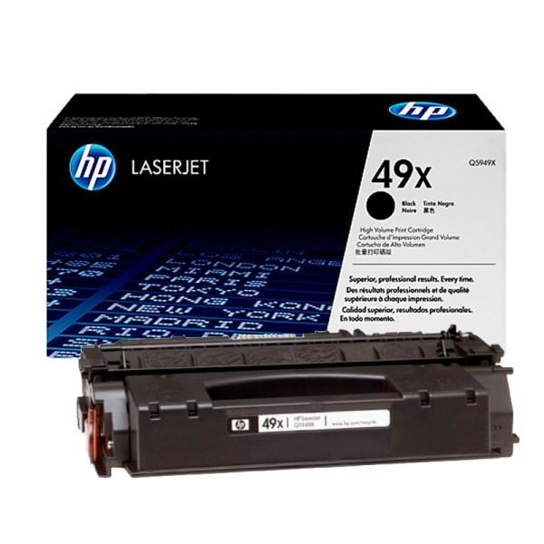 Заправка картриджа HP 49X (Q5949X) в Москве