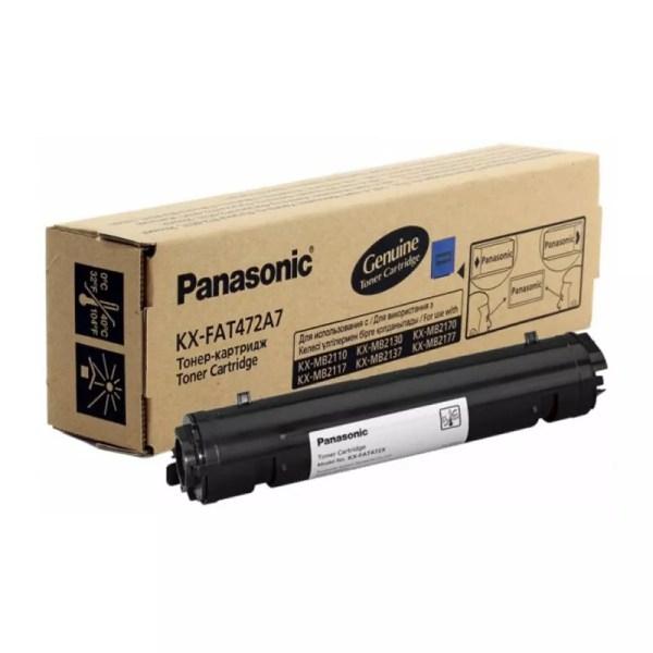 Заправка картриджа Panasonic KX-FAT472A7 заказать в Москве