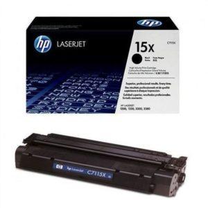 Заправка картриджа HP 15X (C7115X) в Москве