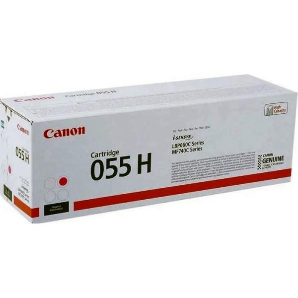 Заправка картриджа Canon 055H M в Москве