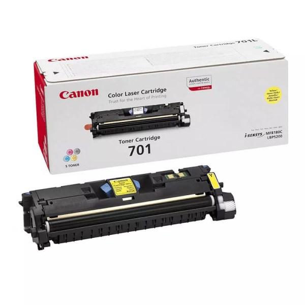 Заправка картриджа Canon 701 Yellow заказать в Москве