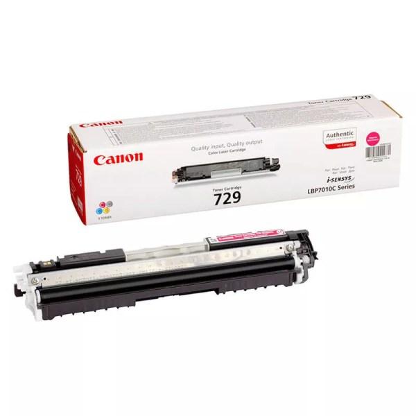 Заправка картриджа Canon 729 Magenta заказать в Москве