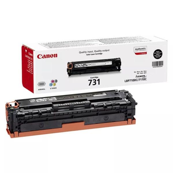 Заправка картриджа Canon 731 Black заказать в Москве
