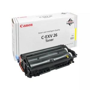 Заправка картриджа Canon C-EXV26 Yellow заказать в Москве