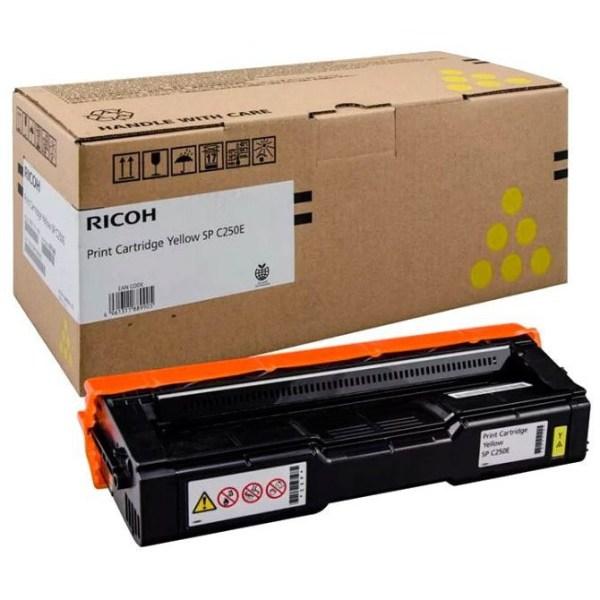 Заправка картриджа Ricoh SP C220E Yellow в Москве
