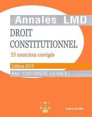 annale de droit constitutionnel