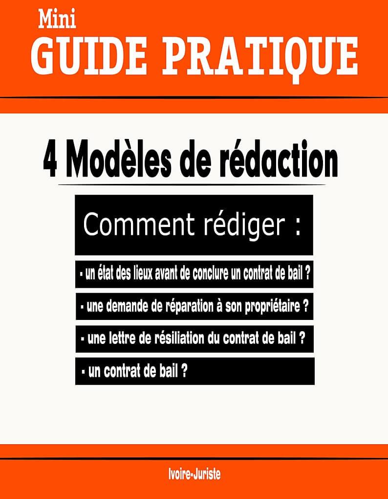 Modeles De Redaction De Lettre De Demande Contrat De Bail Pdf