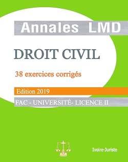 Annales de droit civil - Licence II