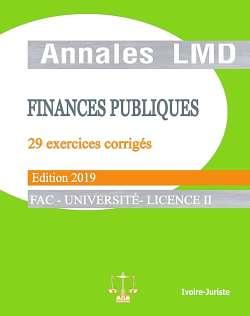 Annales de finances publiques
