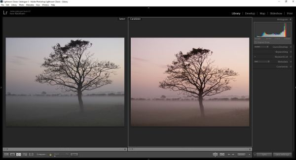 learn the simple tricks of developing a photo in Lightroom