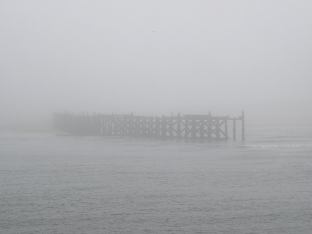 North Pier in the fog