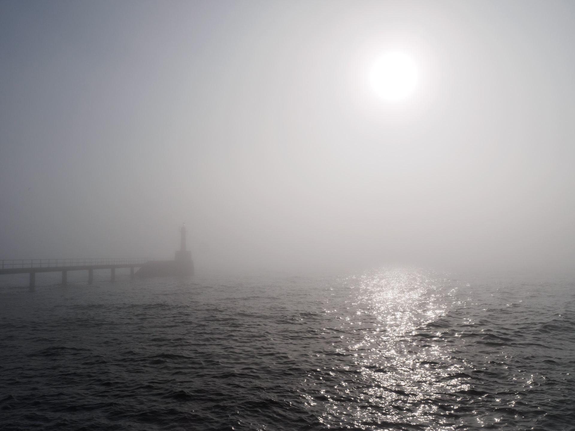 Foggy Sunrise by Amble Light