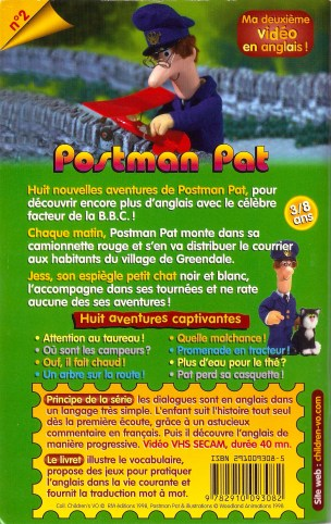 Postman Pat EFL video booklet. Illustrated by Ivor Wood