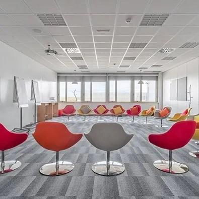 Oficinas FIDAMC, Diseño de oficinas, gestión del espacio, Ivory