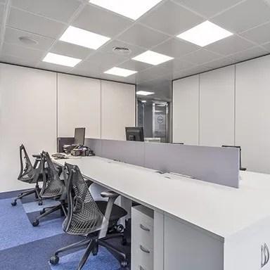 Oficinas MERZ, gestión del espacio, diseño de oficinas inteligentes, Ivory