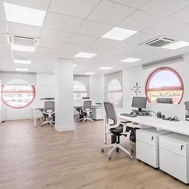 Oficinas Sedigas, gestión del espacio, diseño de oficinas, Ivory