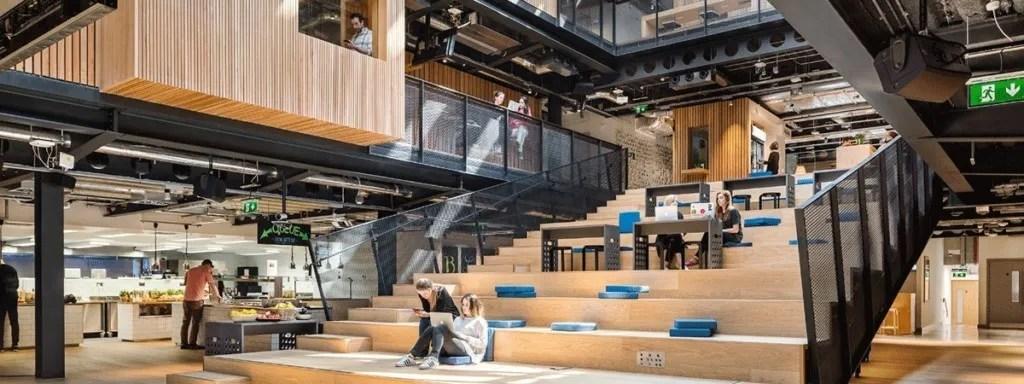 transformación de espacios laborales