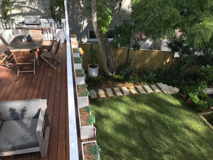 Cremorne Family Garden transformation by Ivory Gardens