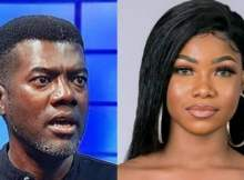 Reno Omokri Drags Tacha over savage response