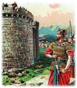 דוד מתכונן לכבוש את עיר , יבוס, היא ציון, היא ירושלים,  היא שלם (?)