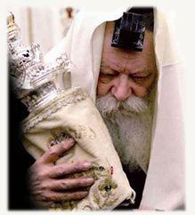 הרבי מליובאוויטש וספר תורה (בנוסח המסורה...)