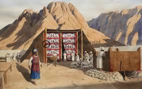 אהל מועד למרגלות הר סיני