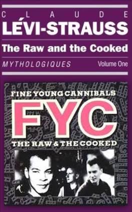 The Raw and the Cooked עטיפת הספר ועטיפת האלבום השי (והאחרון) של... 'קניבלים צעירים ונאים'!