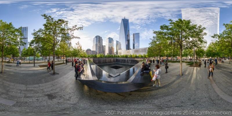 911 Memorial Plaza Panorama