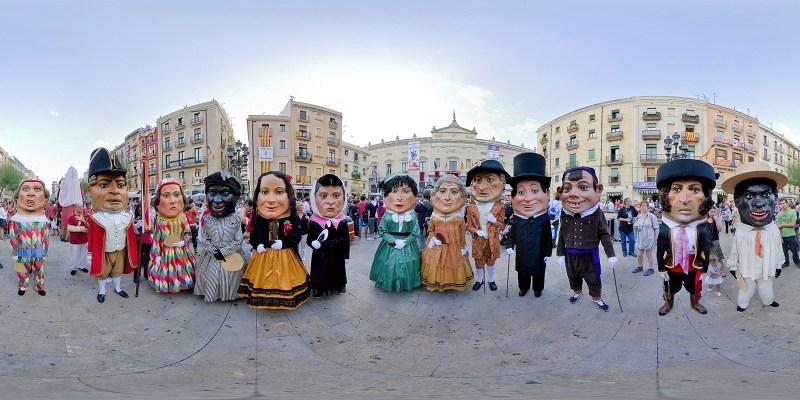 Las Fiestas de Santa Tecla, Tarragona, Cataluna, Spain