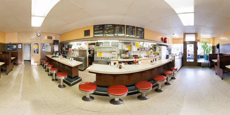 Ramova Grill panorama interior. Photo by Jim Newberry.