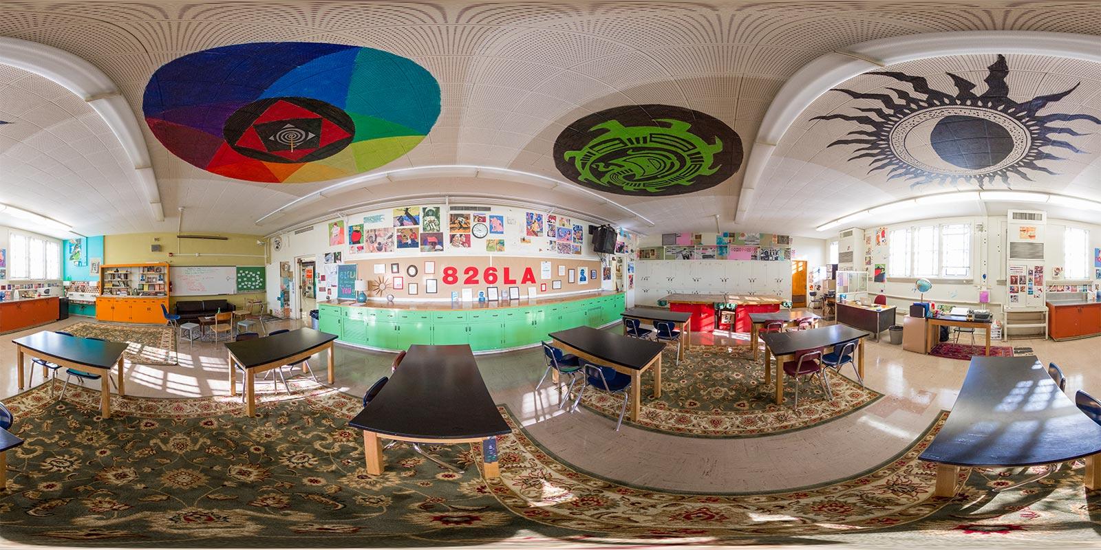 826LA Writers' Room at Manual Arts High School in Los Angeles
