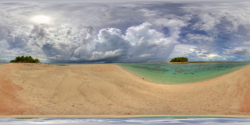 Endangered Pacific Atoll - Nick Hobgood
