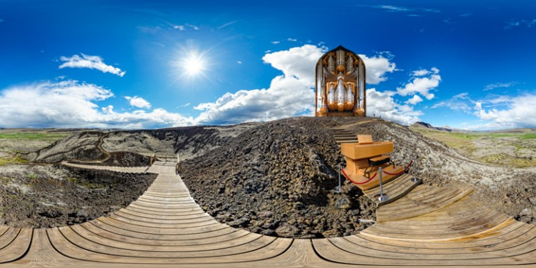 Volcanic Organ, Iceland