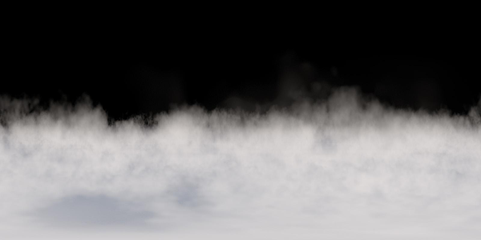 360 VR Ground Fog 3601 Stock Video
