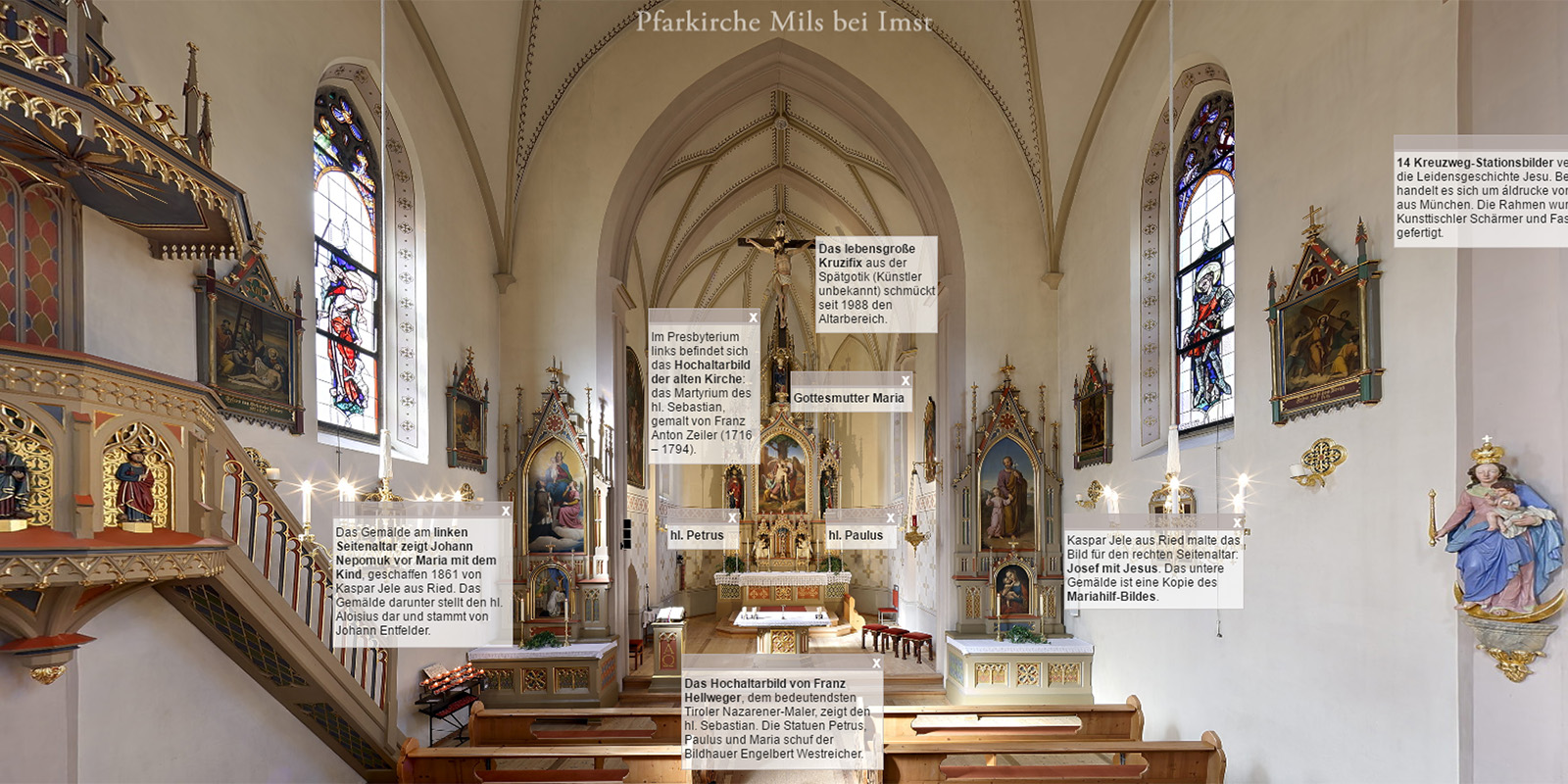 Church Panorama, Mils bei Imst