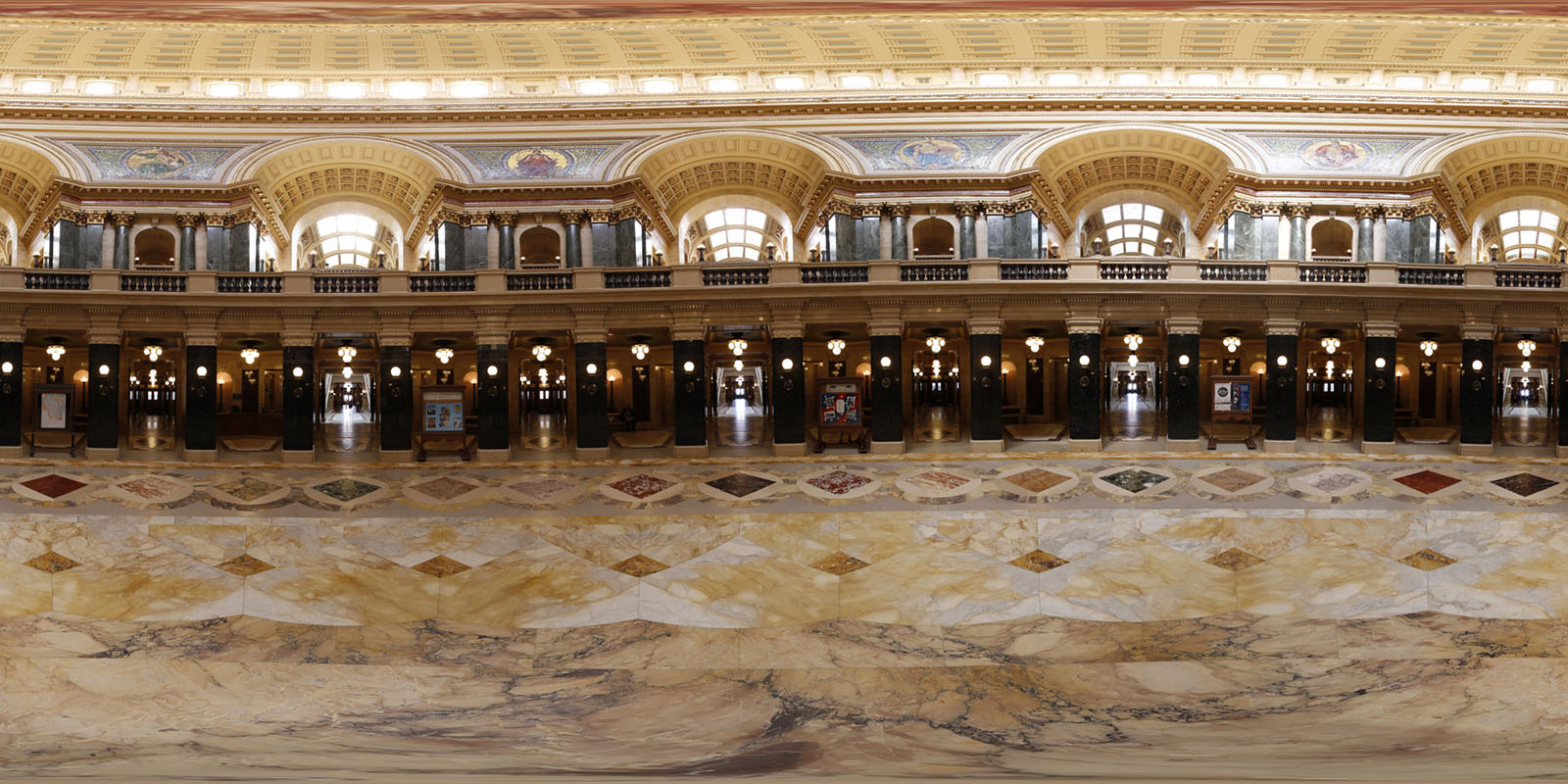 Wisconsin State Capitol 1st Floor 360 Panorama