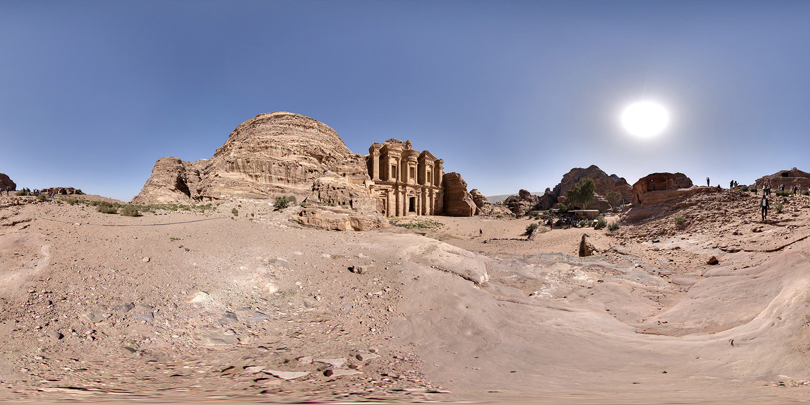 Petra26 - The Monastery, Ad Dier 1600