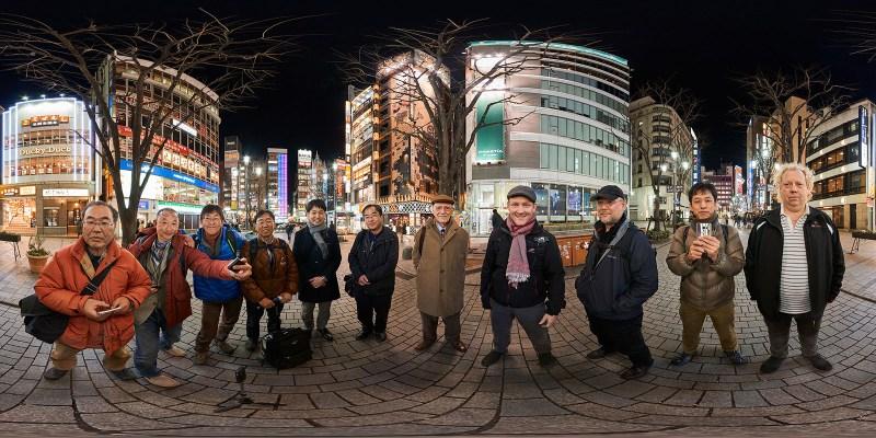 Tokyo Panorama meet up with Gerald 2017