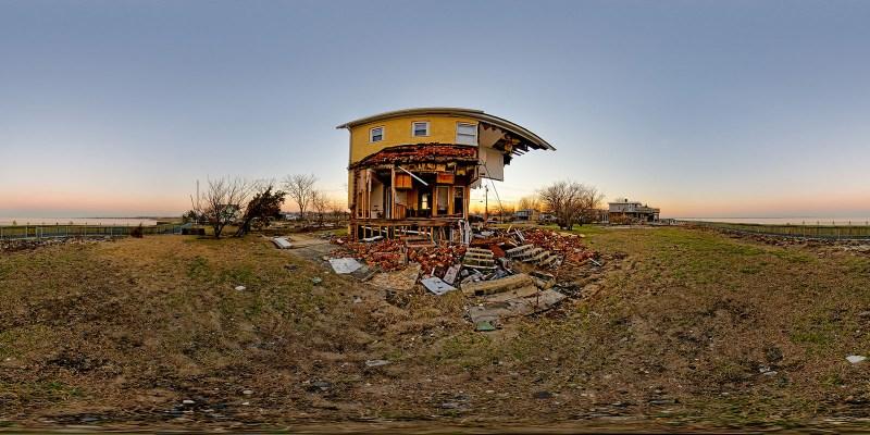 After Super Storm Sandy